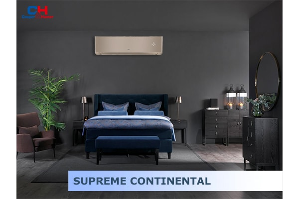 Изображение кондиционер SUPREME CONTINENTAL (GOLD) в интерьере